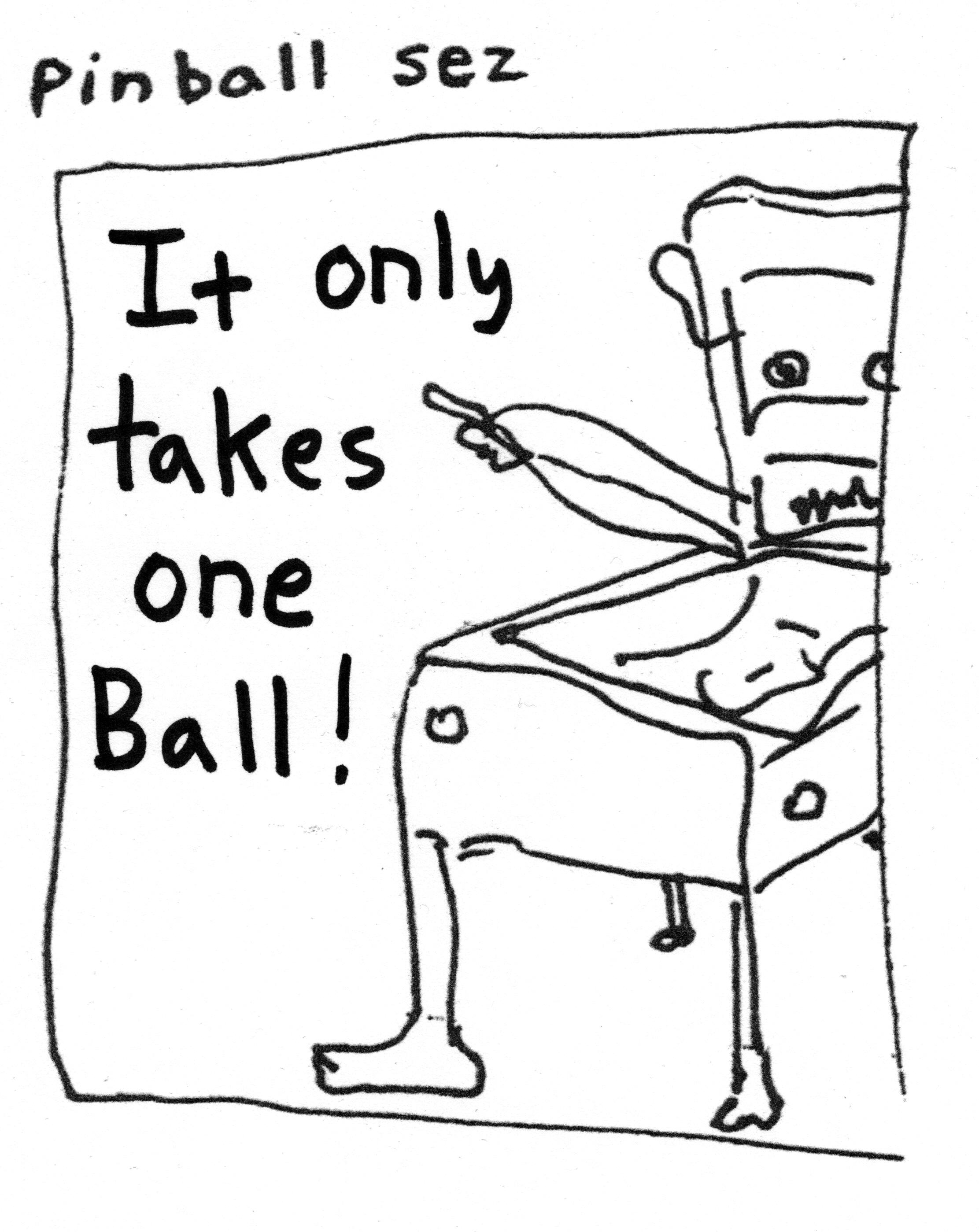 Pinball Sez