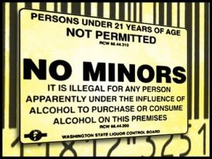 Bar Code No Minors
