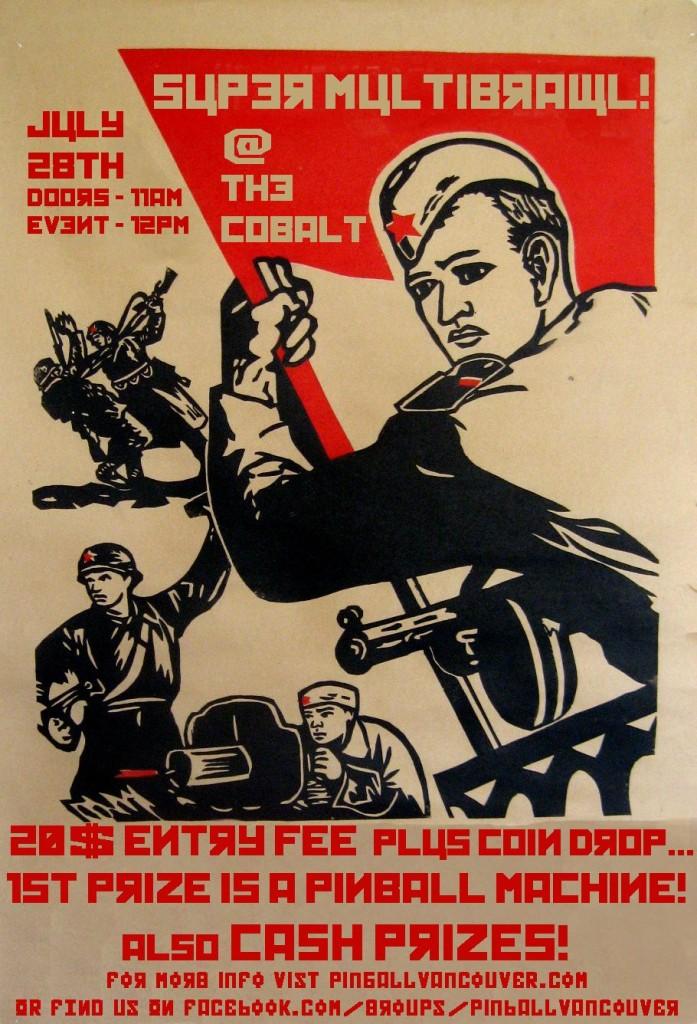Pinball poster 2013