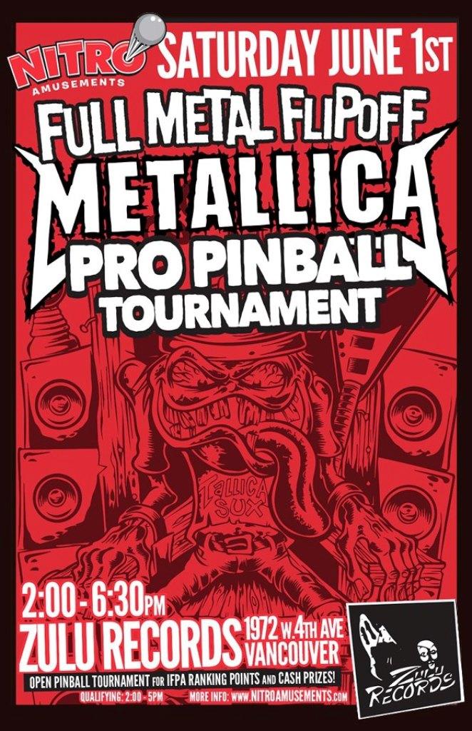 Metallica Flipoff