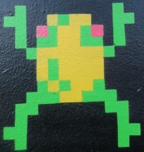 Frogger-Dorkys-detail