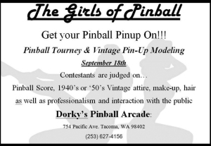 girls of pinball tournament