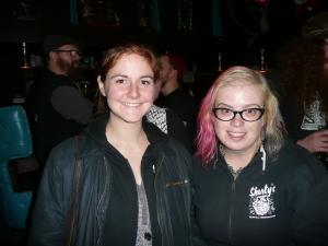 Hannah and Kayla