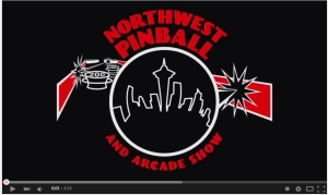 NW Pinball and Arcade Show promo video