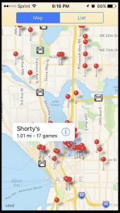 Seattle Pinball Map