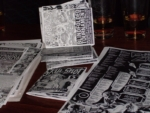 Zines at the first Folding Party!