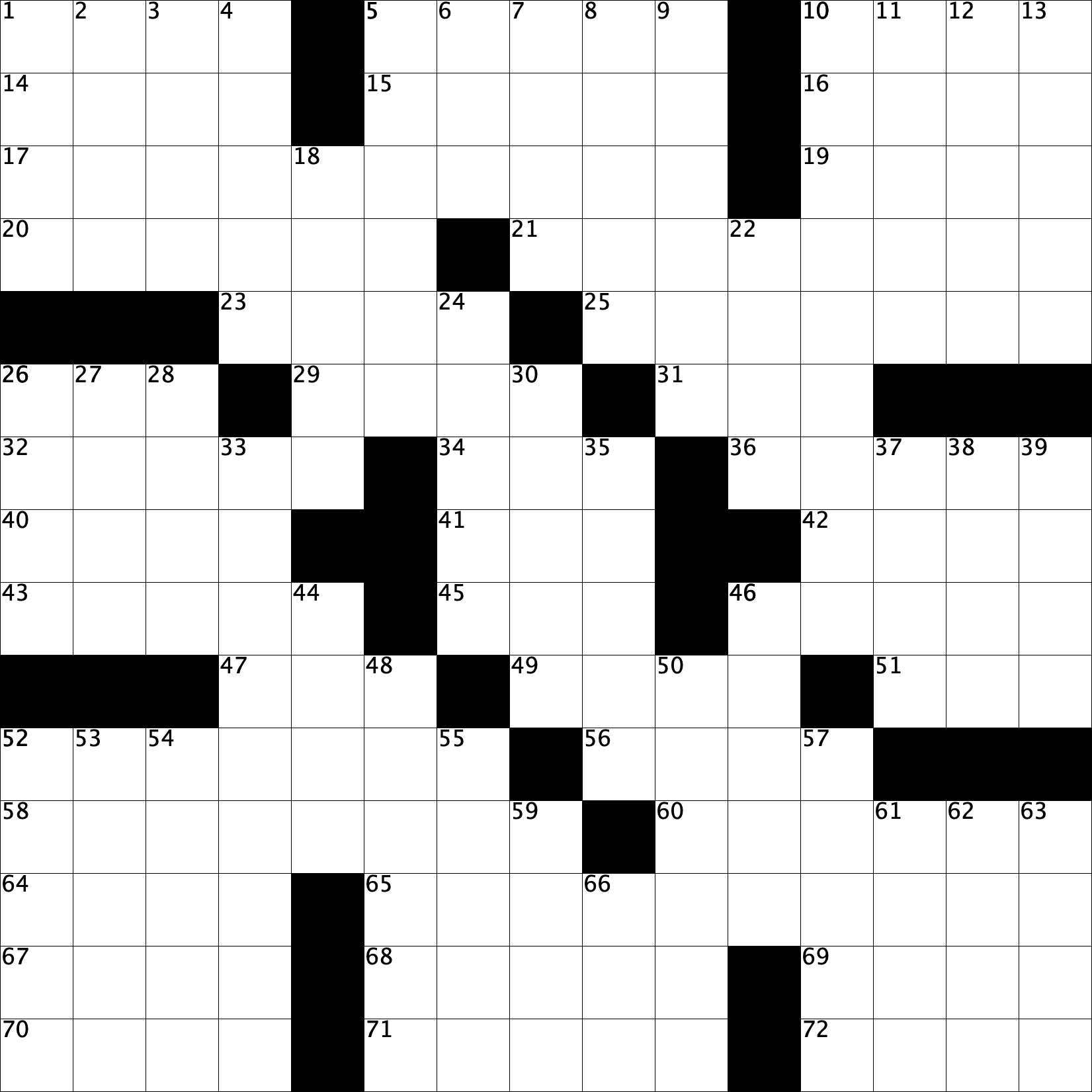 Crossword 01 grid